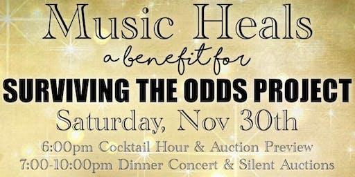 Music Heals Benefit: S.T.O.P. Dinner Concert & Auction