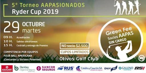 5º Torneo Golf AAPASIONADOS 2019