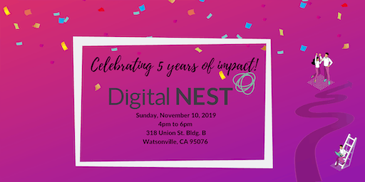 Digital NEST 5th Birthday PARTY!!
