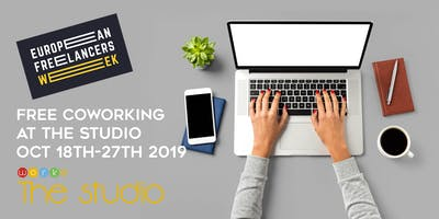 FREE Hotdesking Coworking for European Freelancer Week Oct18th-27th #EFweek