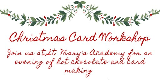 SMA Christmas Card Making
