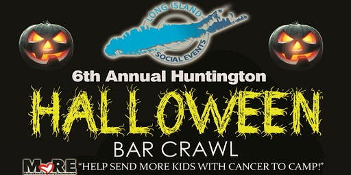 Huntington Halloween Bar Crawl 10/26/2019 Part1!
