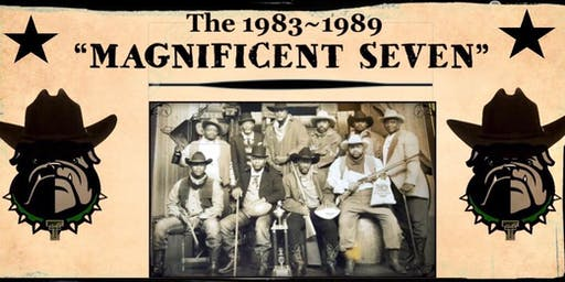 """35TH ANNIVERSARY of TRIMBLE TECH'S """"MAGNIFICENT 7"""" SEASONS! 1983-1989"""