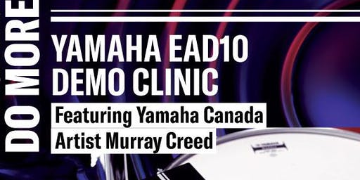 Yamaha EAD10 Demo Clinic – Make your drums do more!