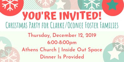 Christmas Party | Clarke/Oconee Foster Families