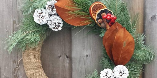 Holiday Wreath Workshop