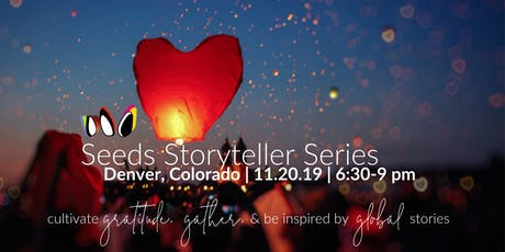 cultivate GRATITUDE, GATHER, & be inspired by GLOBAL stories tickets