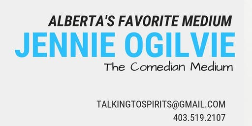 Jennie Ogilvie - The Comedian Medium LIVE in Calgary