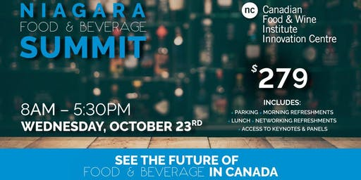 Niagara Food & Beverage Summit
