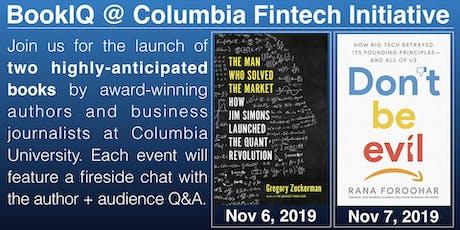Two Book Launches - Columbia Fintech Initiative (fintech.gsb.columbia.edu) tickets