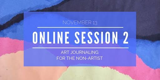 Explore Art Journaling - Online Workshop 2 of 5