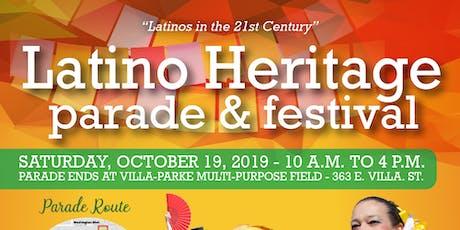 Pasadena Latino Heritage Parade 2019 tickets