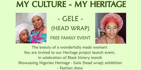 GELE(headwrap), the beauty of a wonderfully made woman  tickets