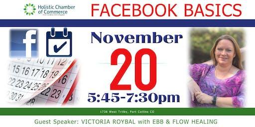 Facebook Basics -Holistic Chamber of Commerce(FOCO)