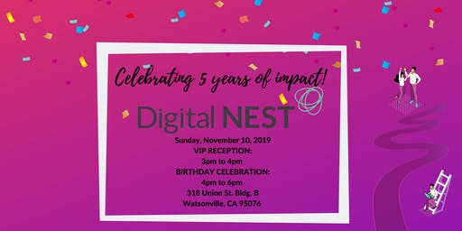 Digital NEST 5th Birthday PARTY & VIP Reception!!