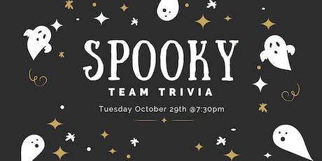 Spooky Team Trivia tickets