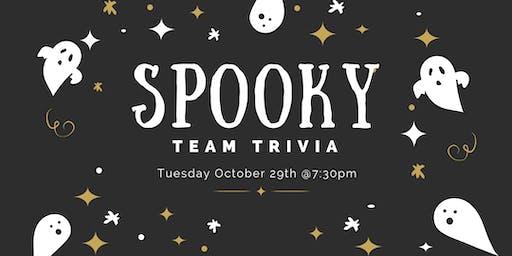 Spooky Team Trivia