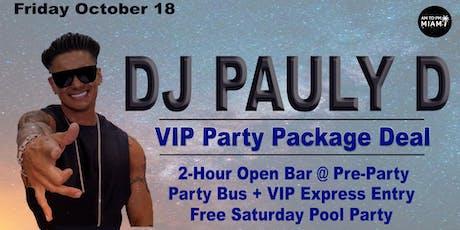 DJ Pauly D - Friday - 10-18-2019 - Miami Beach tickets