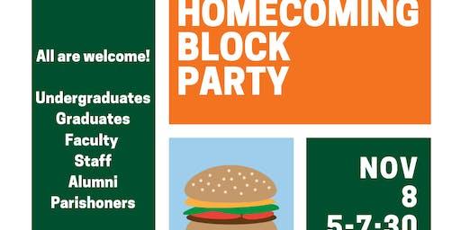 UCatholic Homecoming Block Party