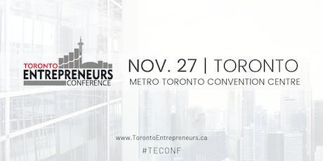 Toronto Entrepreneurs Conference & Tradeshow Registration - November 27th, 2019 tickets