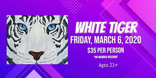 Friday Night Art: White Tiger