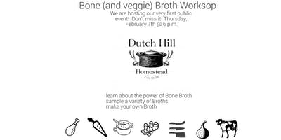 Bone (+Veggie) Broth Workshop