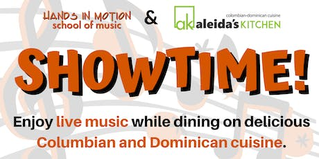Showtime—Live Music at Aleida's Kitchen (Pop, Jazz, Latin Jazz, & More) tickets