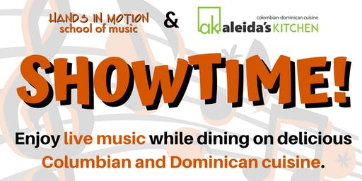Showtime—Live Music at Aleida's Kitchen (Pop, Jazz, Latin Jazz, & More)