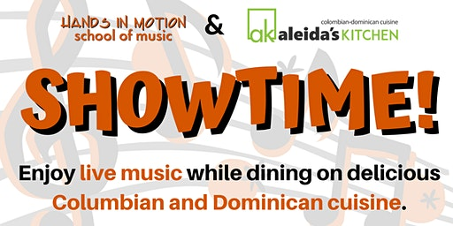 Showtime—Live Music at Aleida's Kitchen (Pop, Jazz, Latin Jazz, & More)