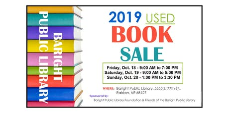 Used Book Sale - Friday, Oct 18 tickets