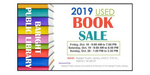 Used Book Sale - Sat, Oct 19