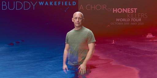 "Buddy Wakefield ""A Choir of Honest Killers"" (book release), with special guests - @FREMONT ABBEY"