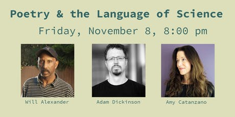 Poetry & the Language of Science tickets