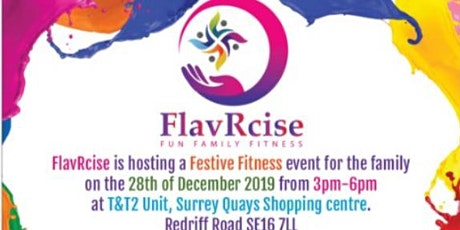 FlavRcise Festive Fitness tickets