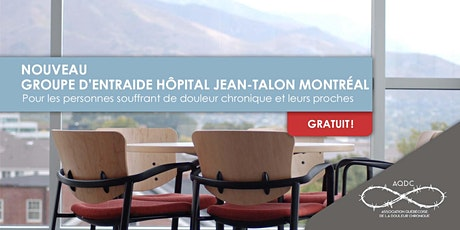 AQDC : Groupe d'entraide Hôpital Jean-Talon billets