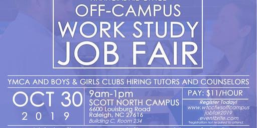 Wake Tech Off Campus Employer Job Fair