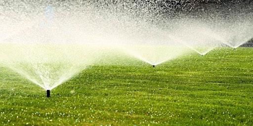 Landscape Irrigation Workshop - UGA Columbia