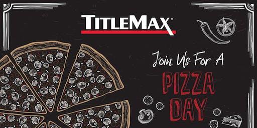 National Pizza Day at TitleMax Garden City, GA