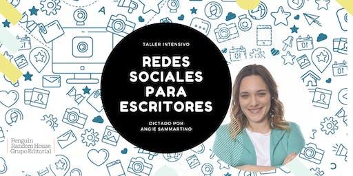 Redes Sociales para Escritores ● Taller intensivo de Angie Sammartino