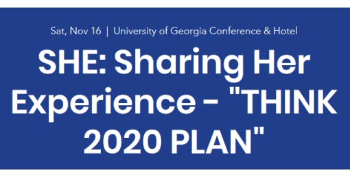 THINK 2020 PLAN: 2-Day Women's Business Legal Educational Seminar