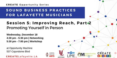 Sound Business Practices for Lafayette Musicians: Session 5 tickets