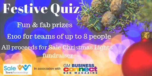 Sale Fundraising Festive Quiz & Networking Event