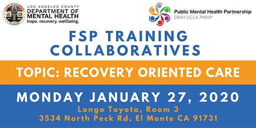 FSP Training Collaboratives: Recovery-Oriented Care