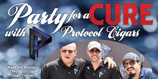 Party for a Cure with Protocol Cigars