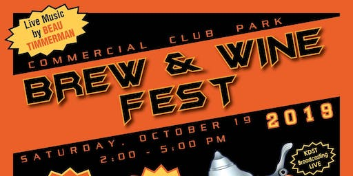 Commercial Club Parks 2019 Fall Brew & Wine Fest