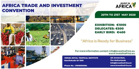 AFRICA TRADE AND INVESTMENT CONVENTION tickets