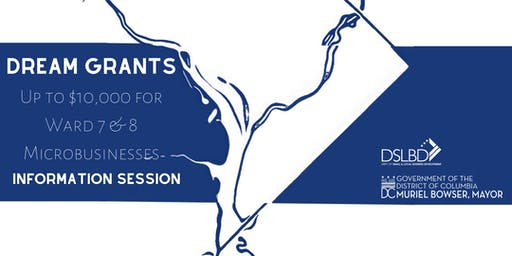 Dream Grant Information Session (Final Session)