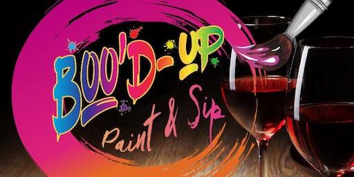 Boo'd-Up Paint & Sip