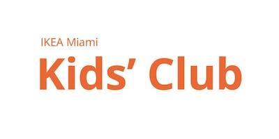 Kids Club - Gratitude Artwork - A FREE, fun craft workshop at IKEA Miami!