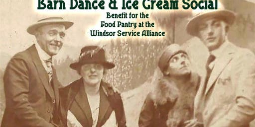 Barn Dance & Ice Cream Social with Rowdy River Special